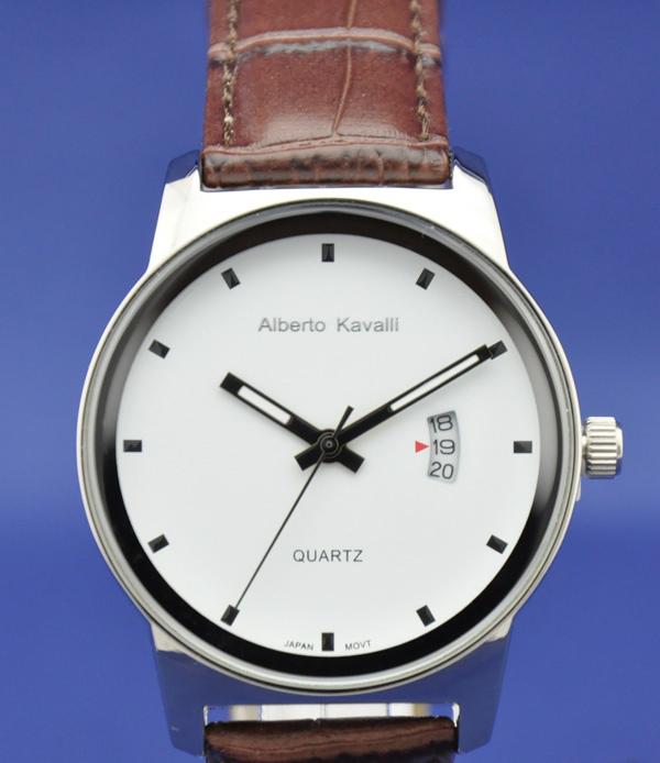 Alberto kavalli часы белые мужские