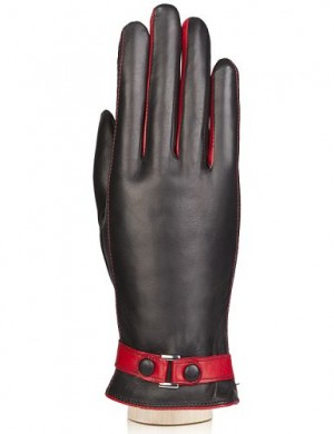 Перчатки женские ш+каш. TOUCH IS02074 black/red