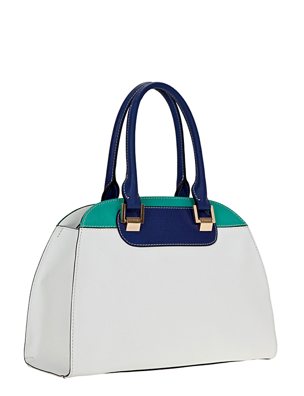 Сумка ELEGANZZA Z1D-3323 white/blue/green