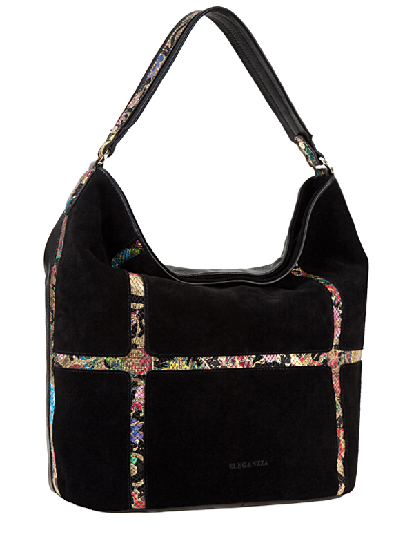 Сумка ELEGANZZA Z28A-3343 multicolor-black/gold