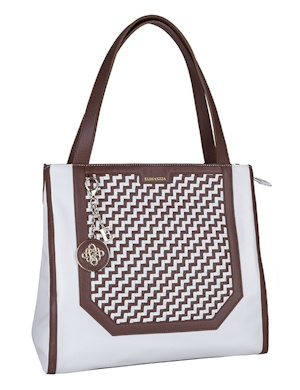 Сумка ELEGANZZA ZC-35777 white/brown