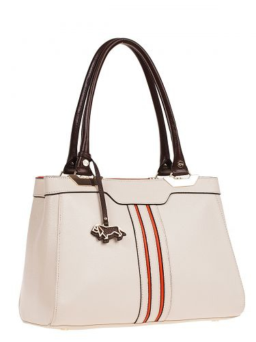 Сумка Labbra L-D23046-1 beige/orange/d.coffee